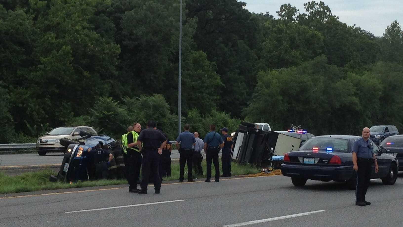 U.S. 71, Bannister Road wreck