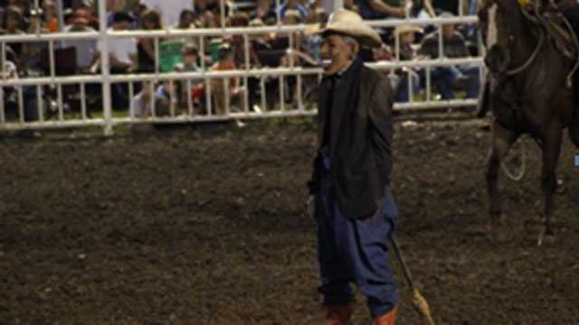 Image Obama rodeo clown