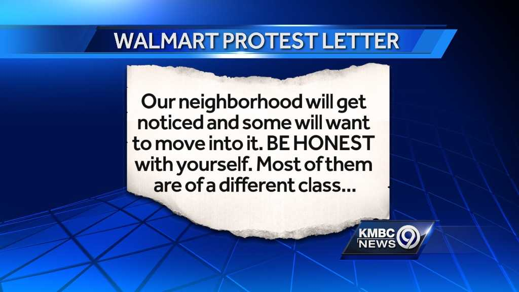 Image Letter about Walmart