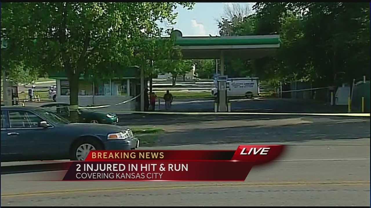 Image Pedestrian hit-and-run