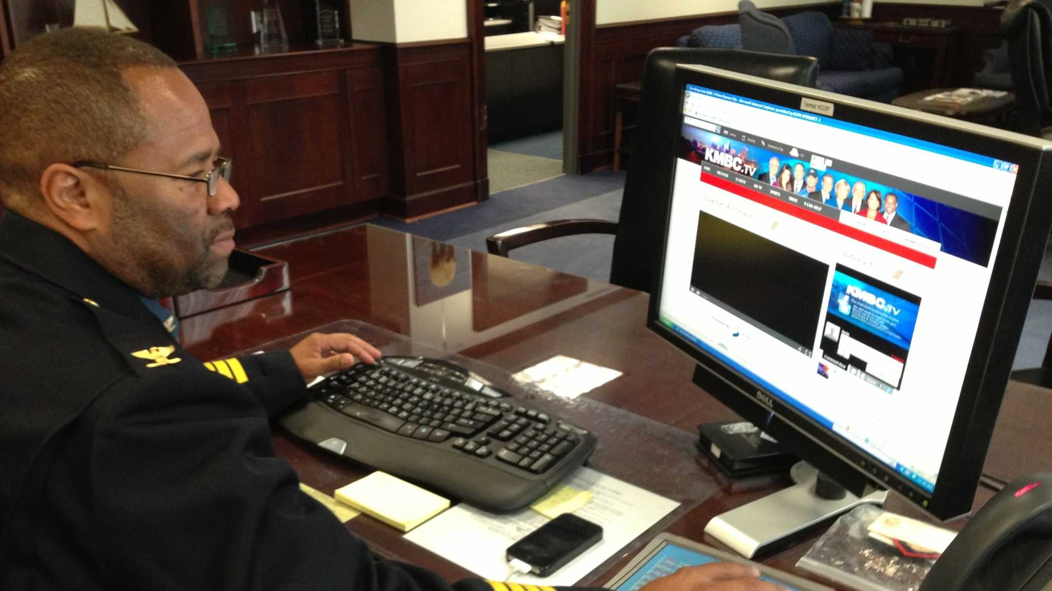Kansas City Police Chief Darryl Forté to Wrap with KMBC