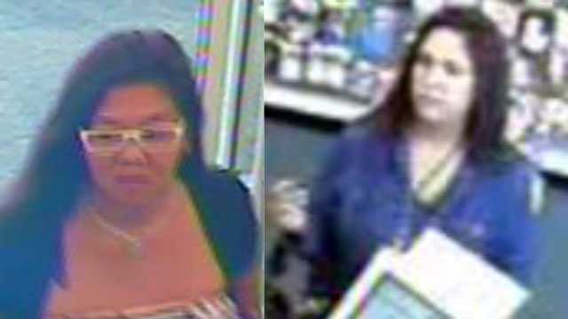 Image Women sought in credit card thefts