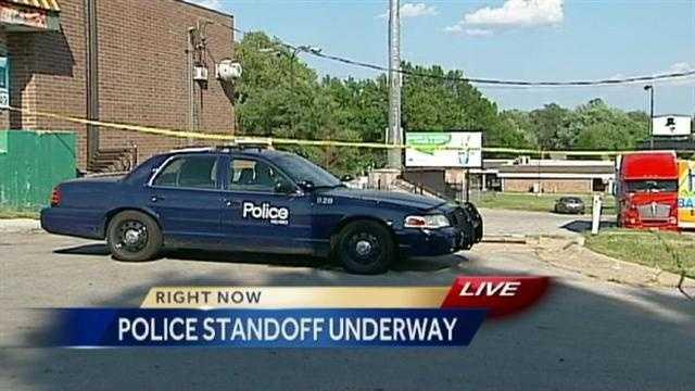 Image Southeast KC police standoff