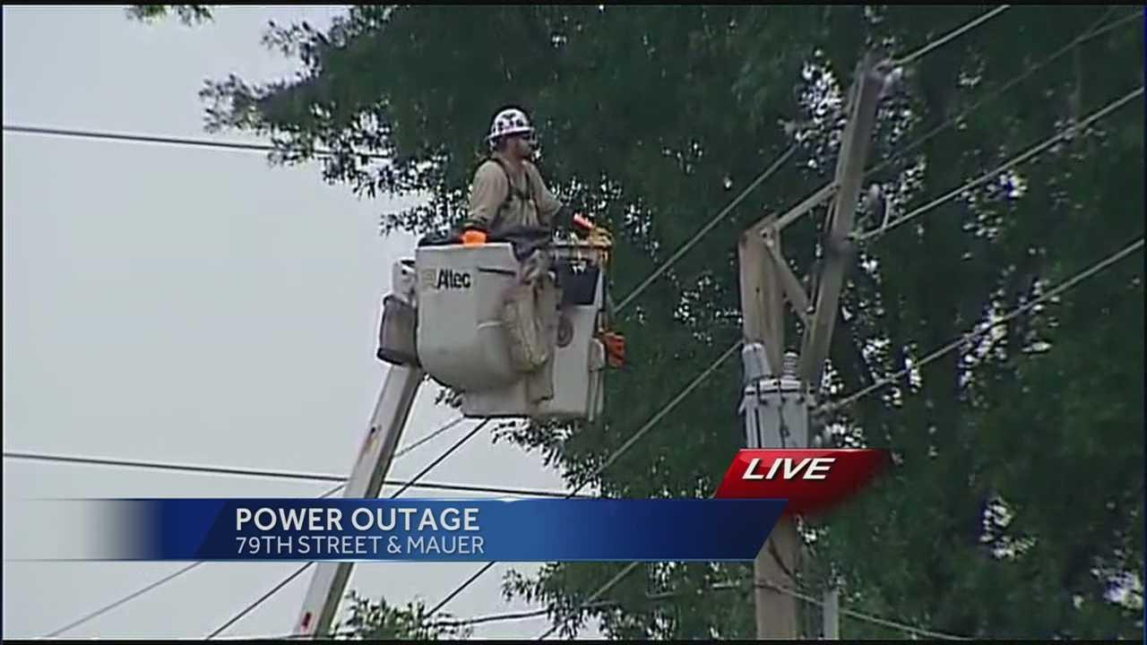 Lenexa power outage