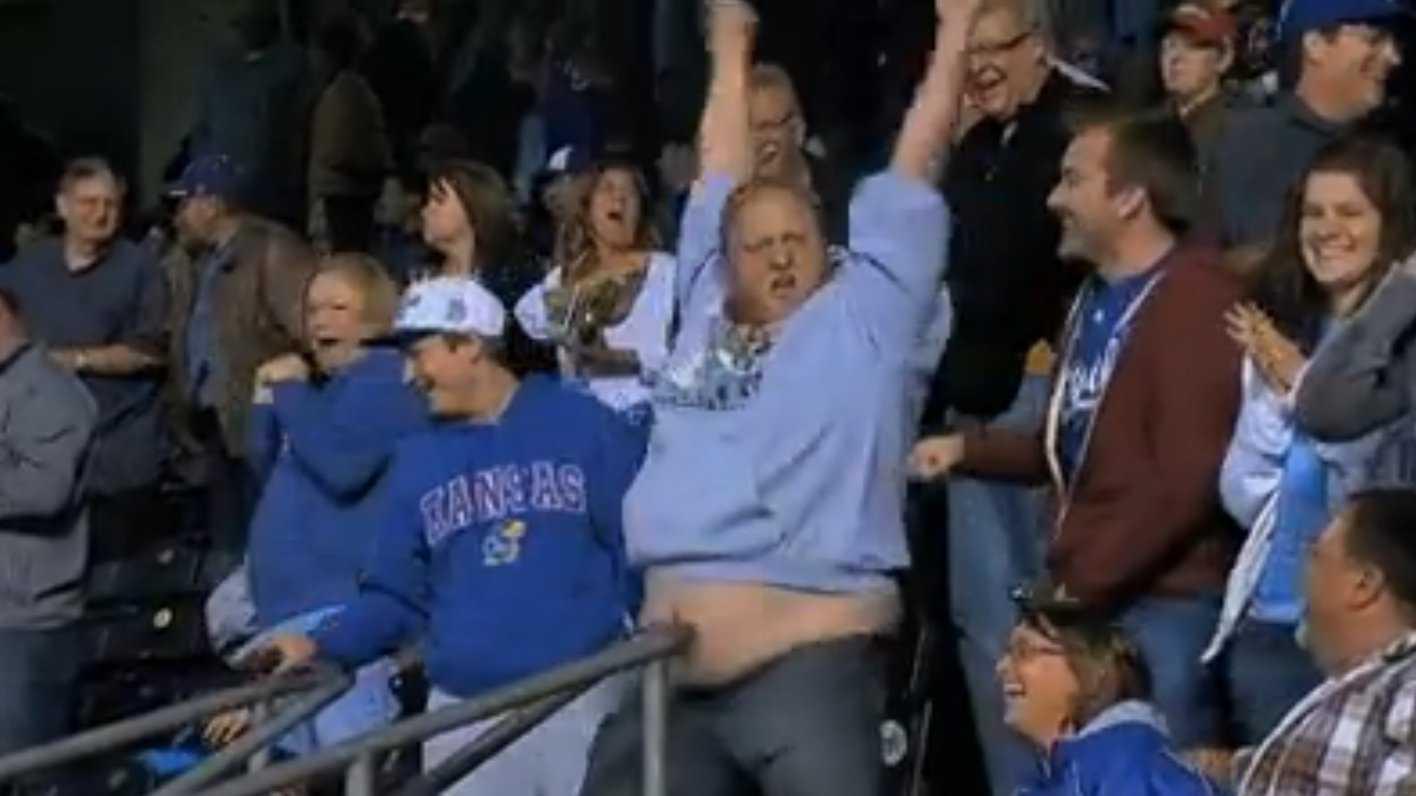 Royals fan Jimmy Faseler