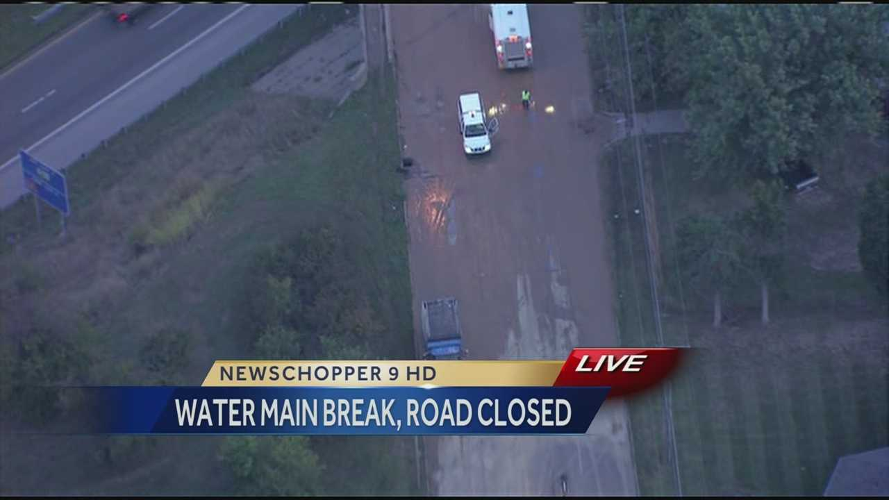 North Brighton, water main break