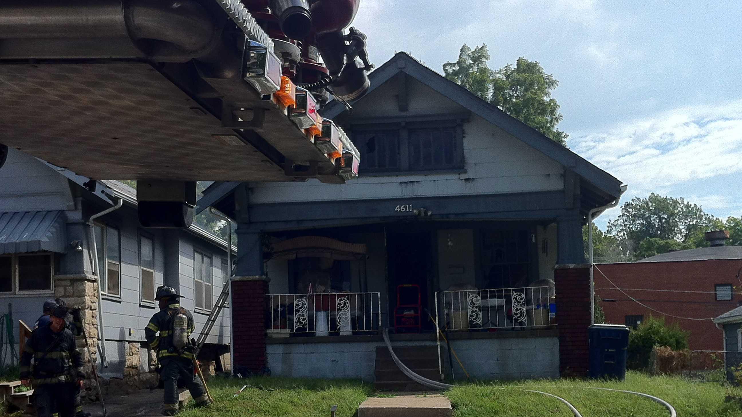 Wabash house fire