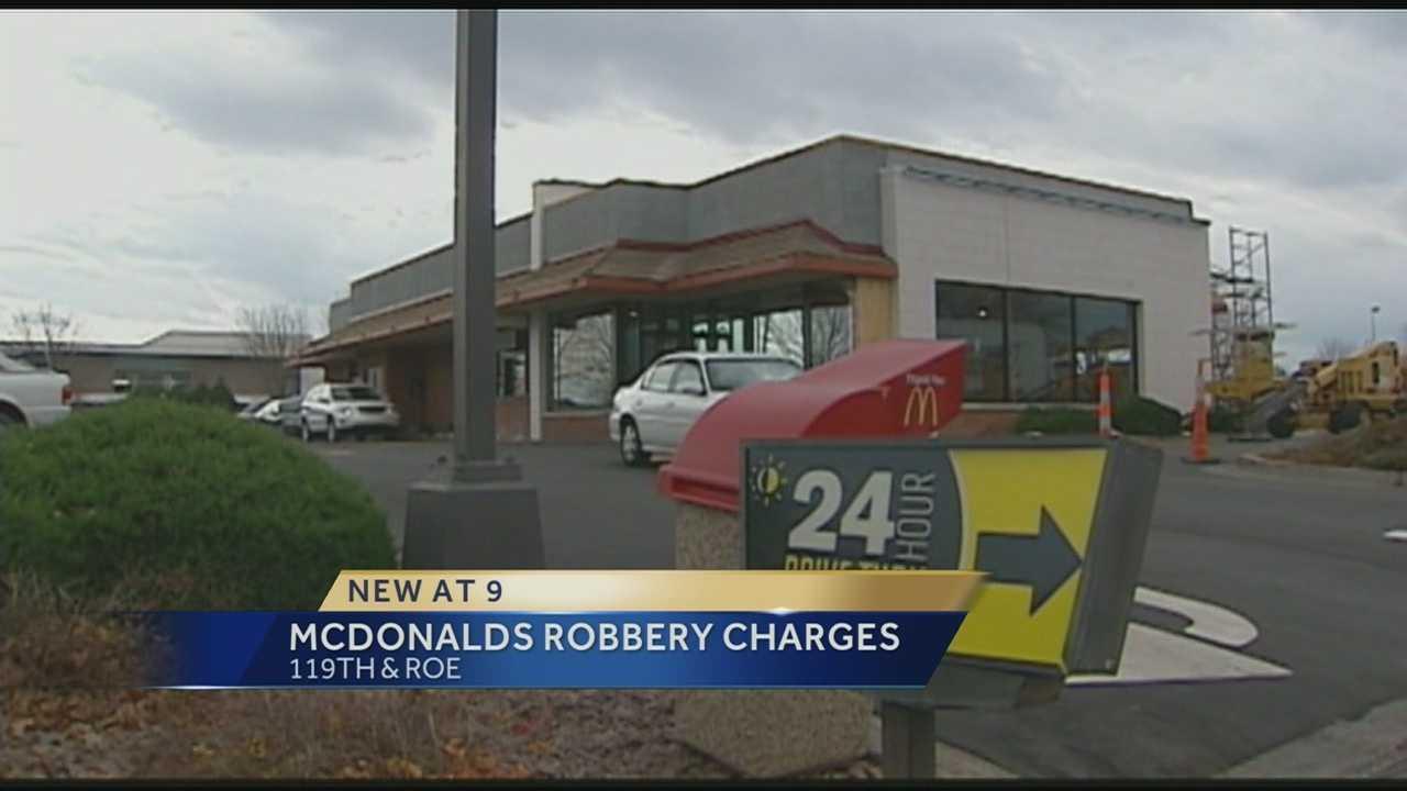 Image McDonald's robbery