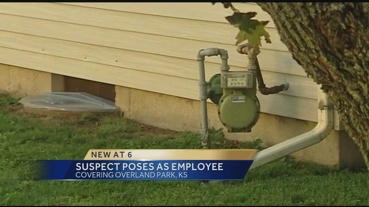 Overland Park police warn of water department impostor