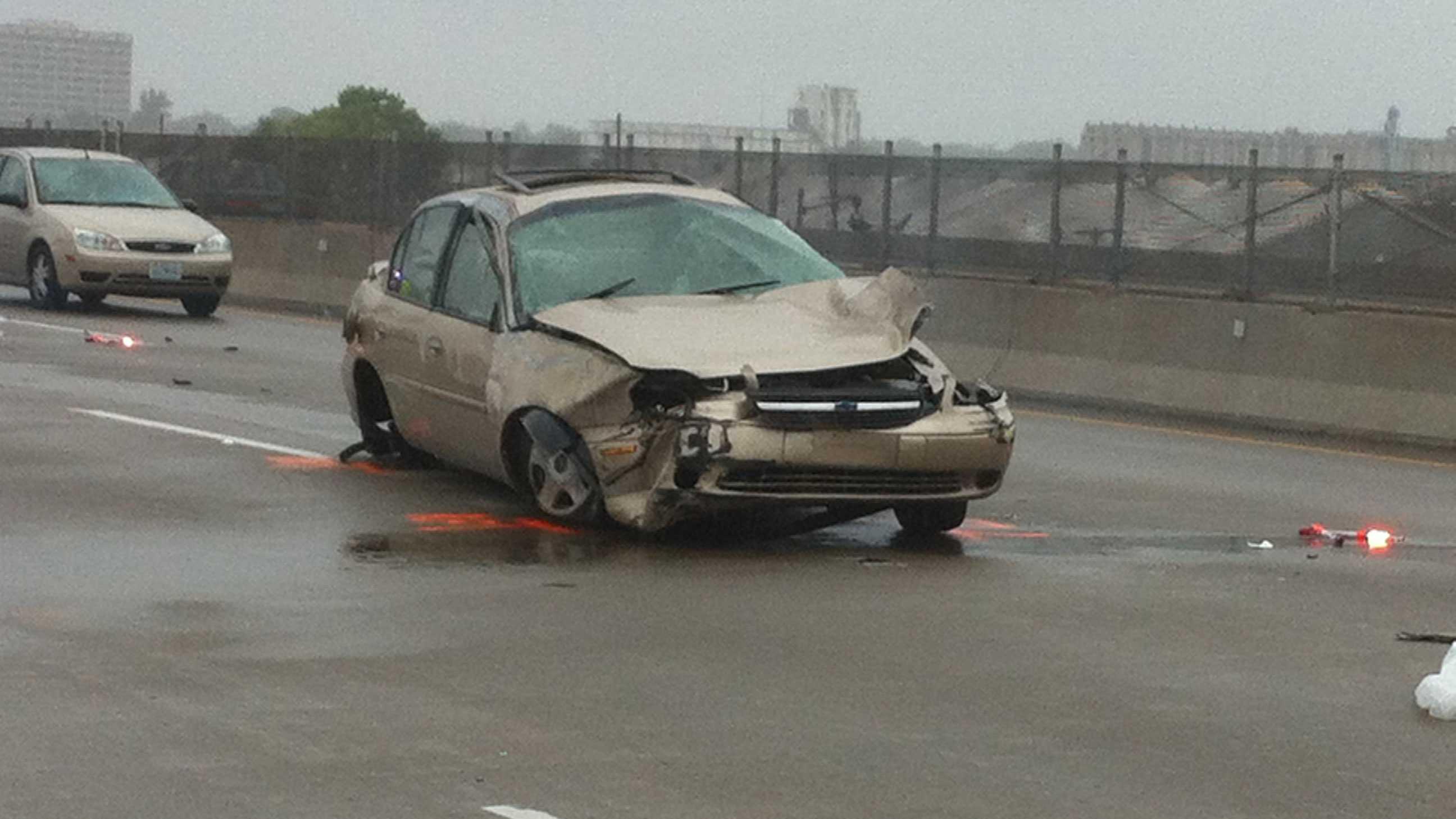 I-70, Fairfax Trafficway crash