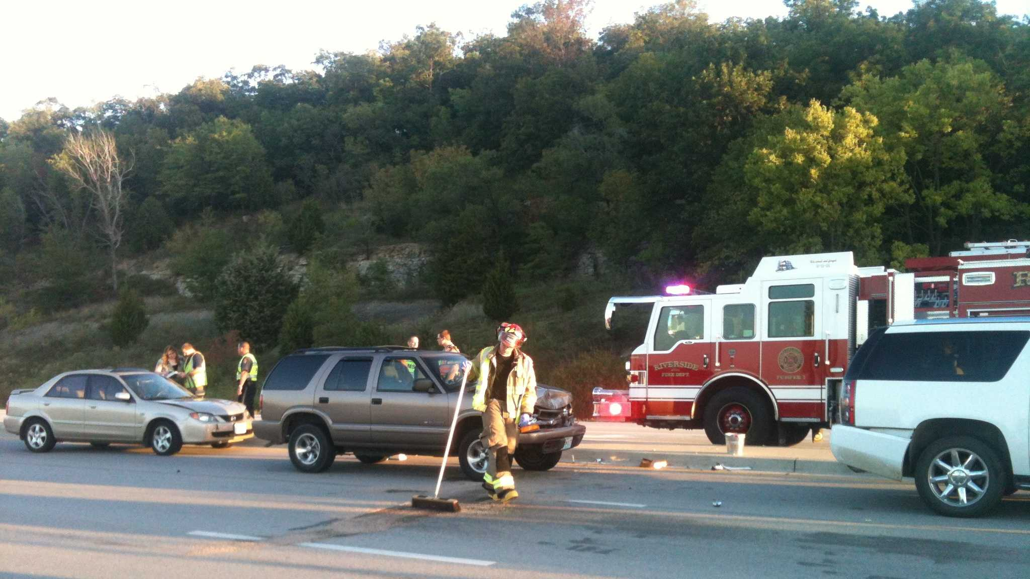 Accident on 9 Highway at Horizons Parkway