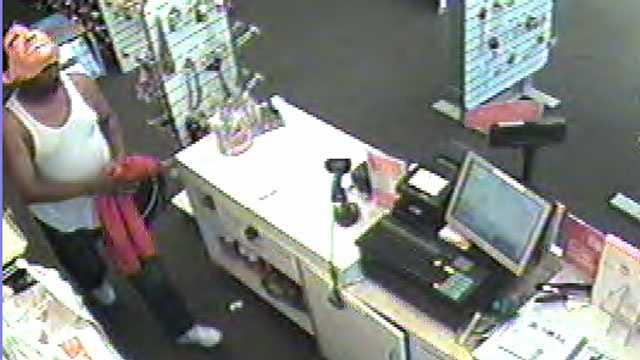 Image Payless Shoe Source robbery
