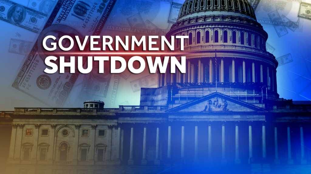 Image Federal government shutdown graphic generic
