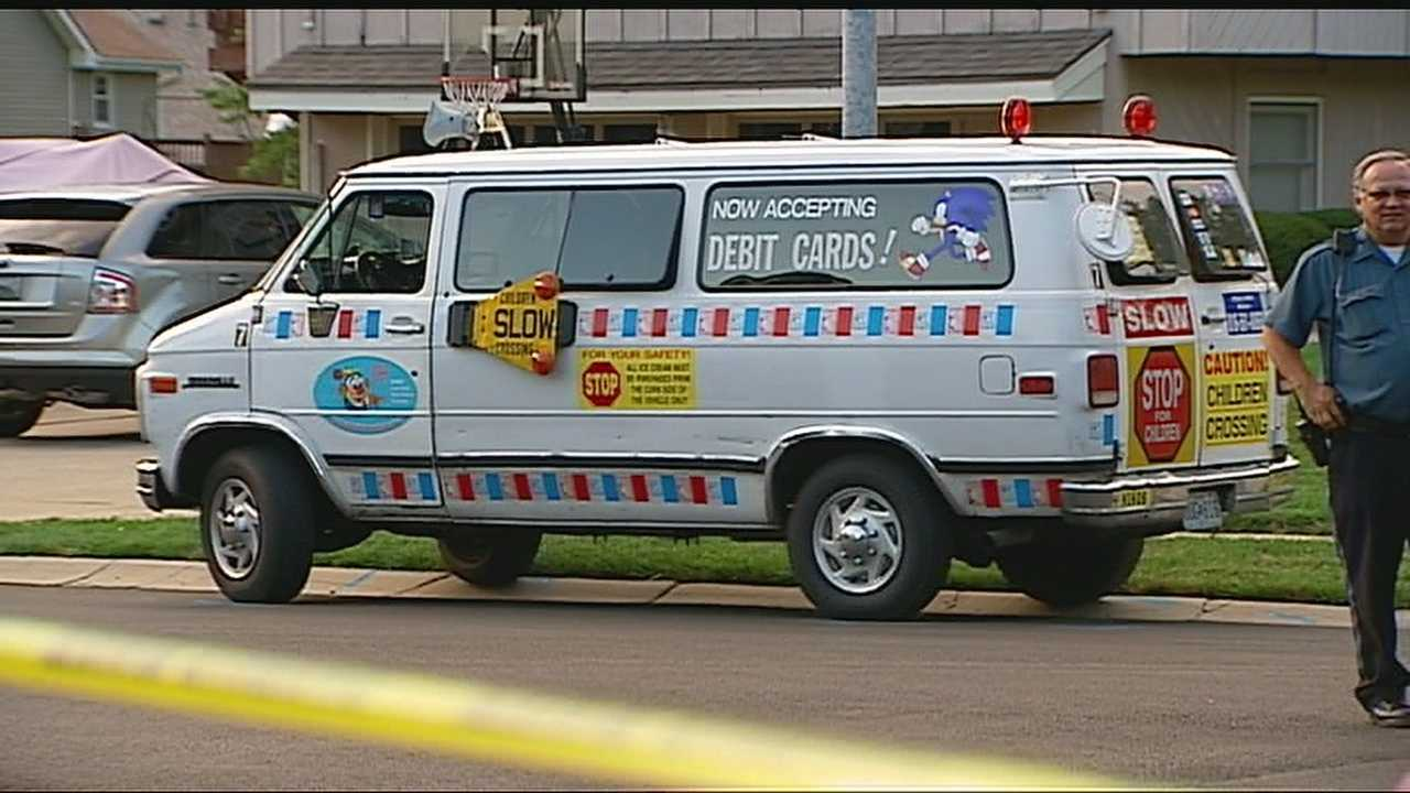 Girl killed in accident with ice cream truck