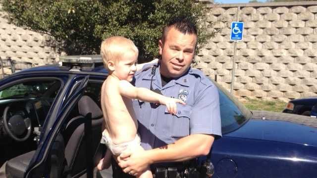 Toddler found wandering on Mill Street