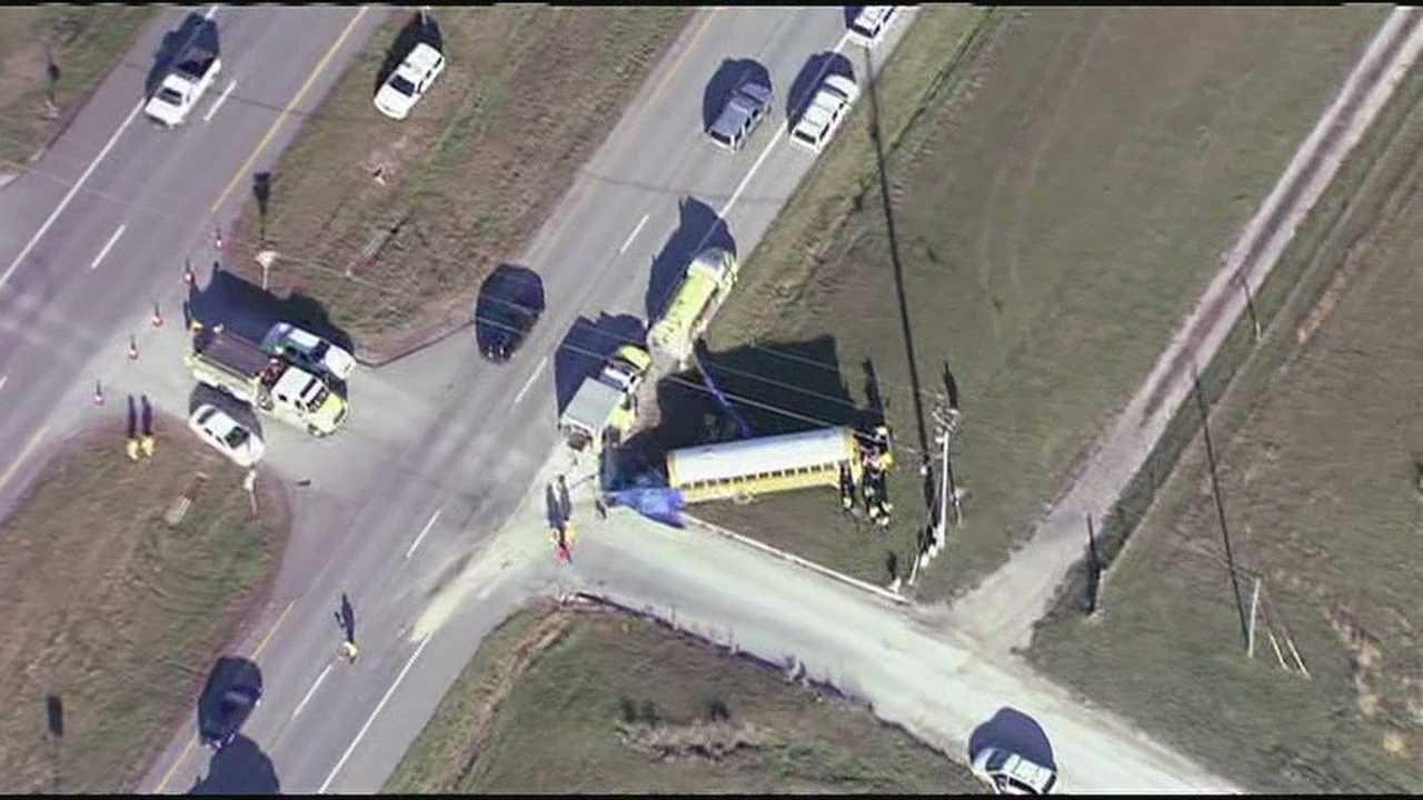 Warrensburg school bus crash