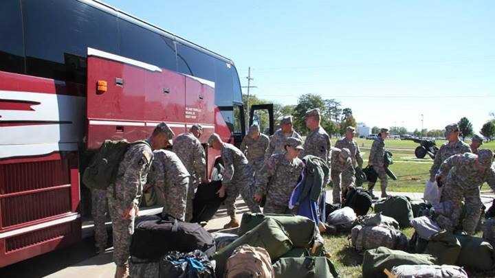 Kansas National Guard deploys to Colorado