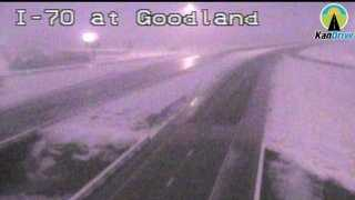 Goodland, Kan. snow 7:30 a.m.
