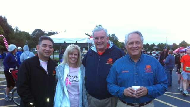 Larry Moore pumpkin run