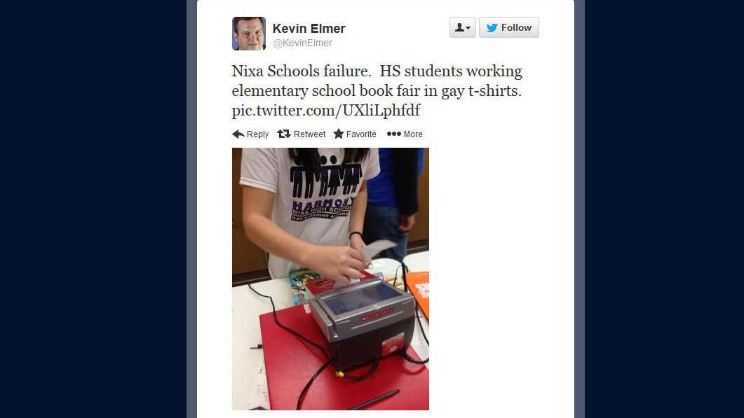 Kevin Elmer tweet