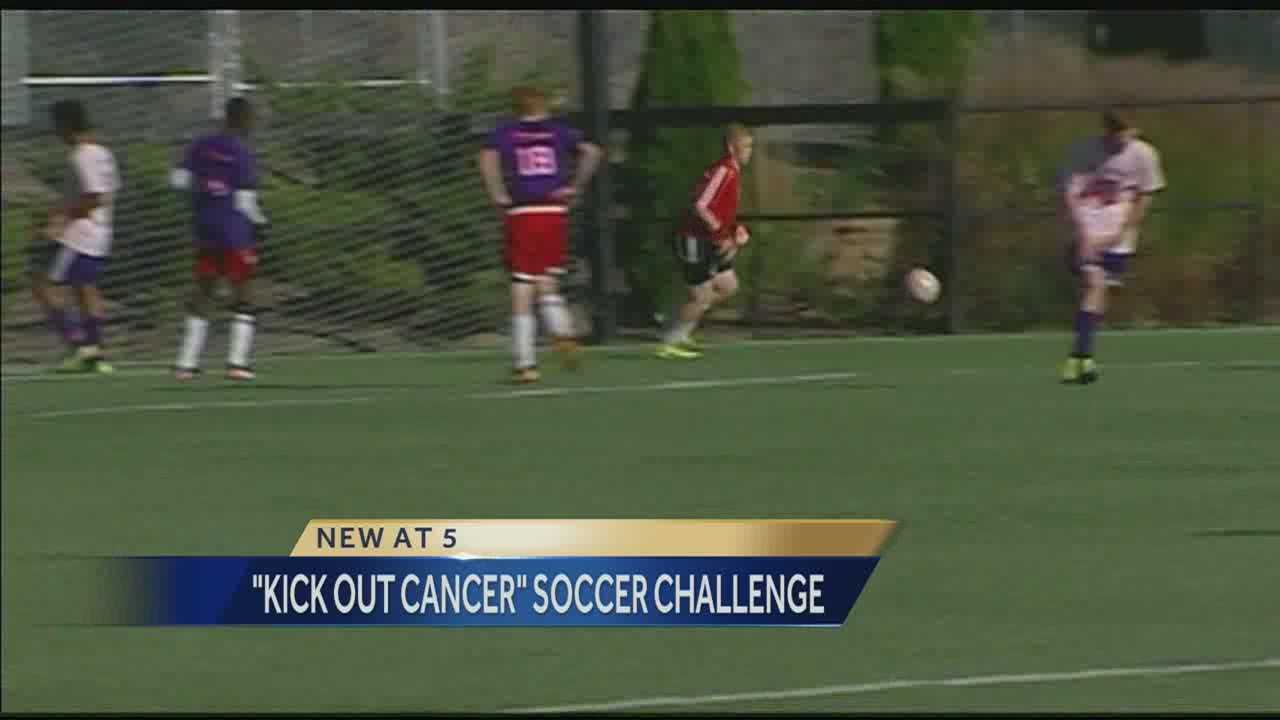 Image Soccer benefit for kids with cancer