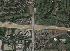 6) I-435 and Antioch: 32 crashes