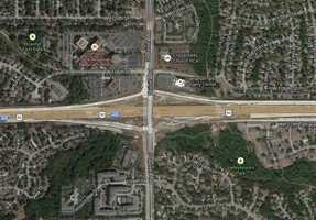 2) I-435 and Quivira: 53 crashes