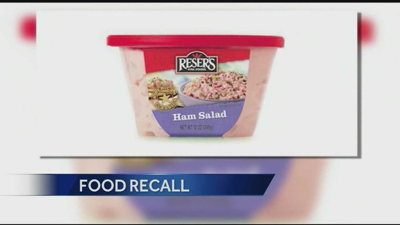 Reser food recall