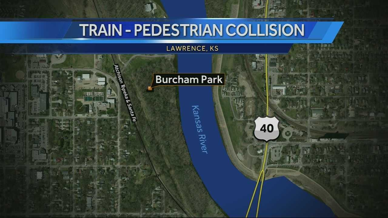Lawrence pedestrian killed by freight train
