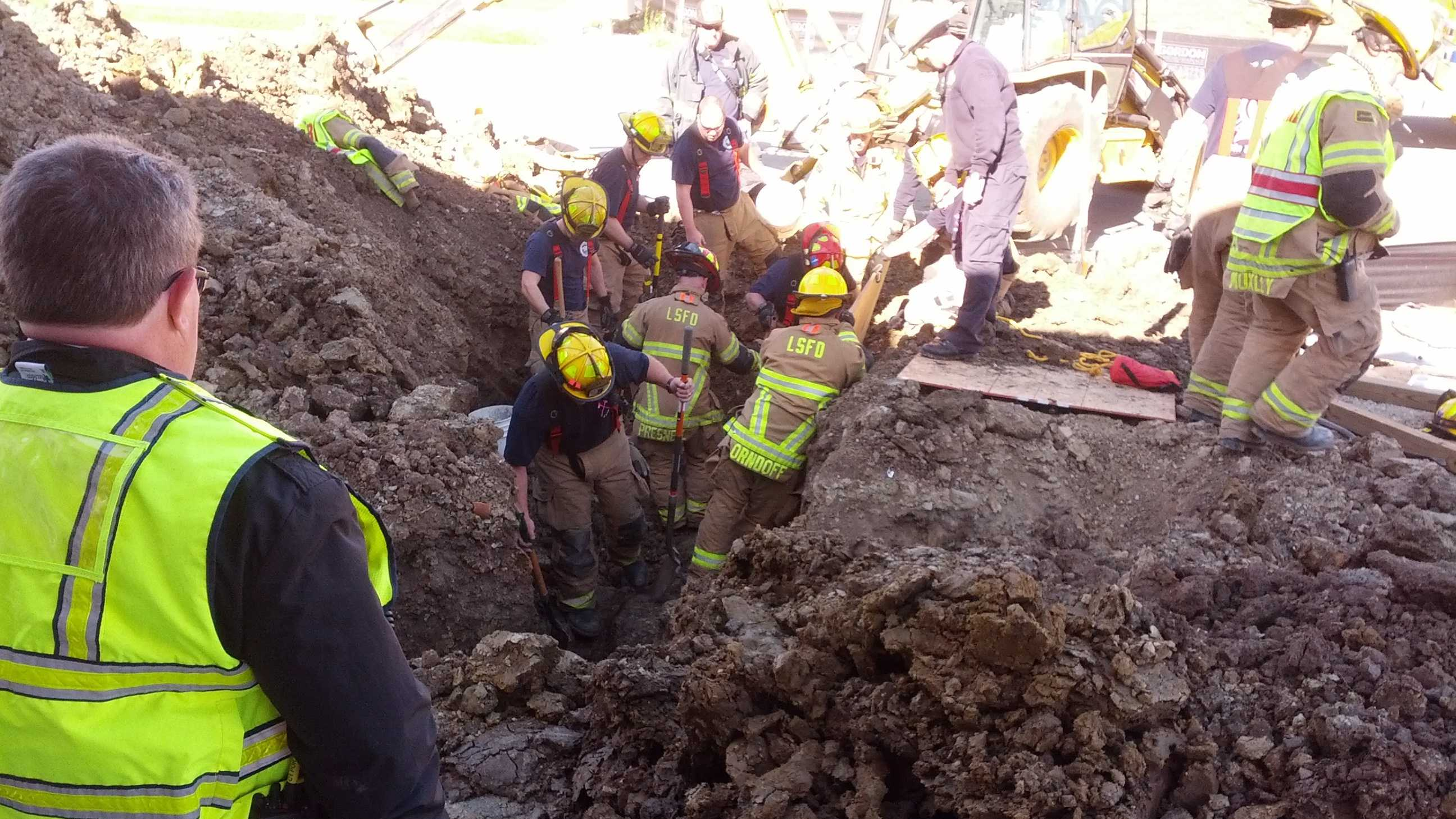 Lee's Summit trench rescue image 17
