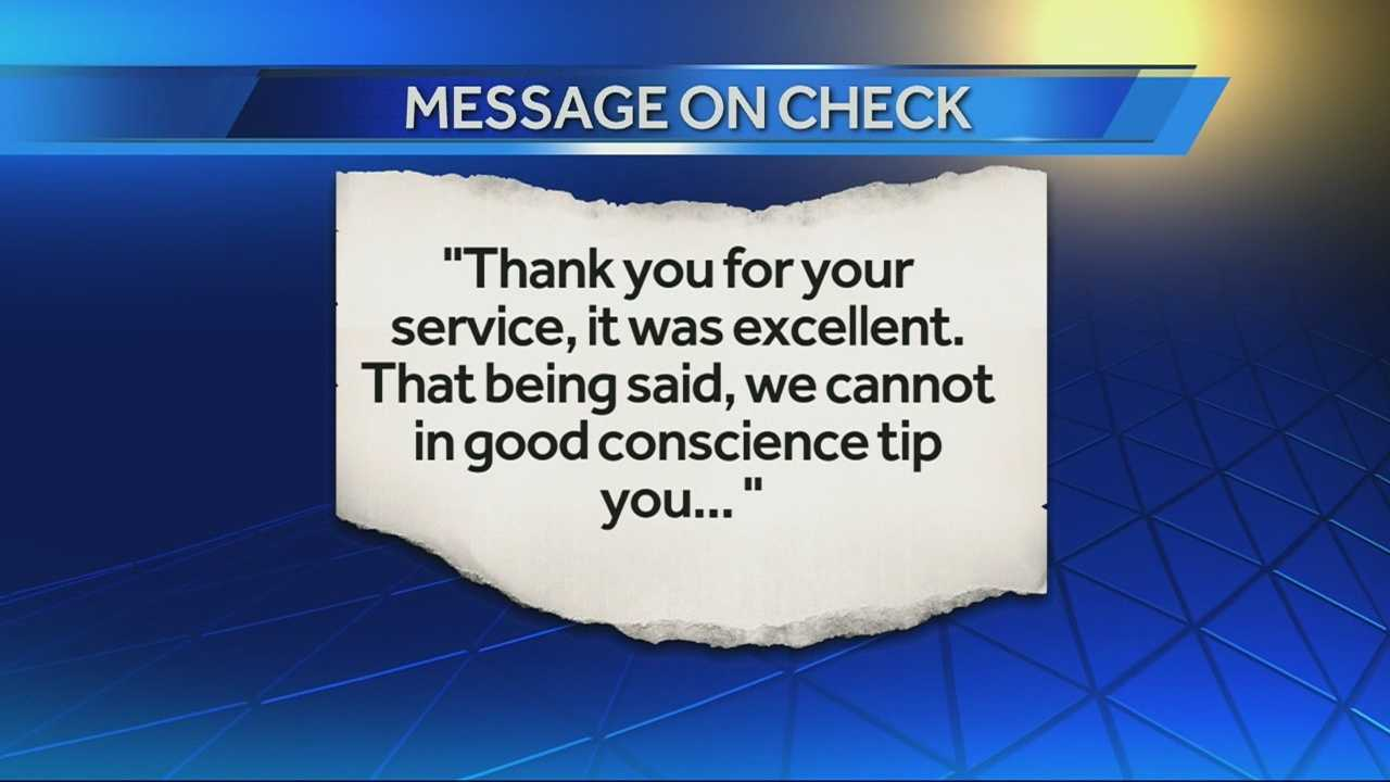 Local server receives no tip, anti-gay message on bill