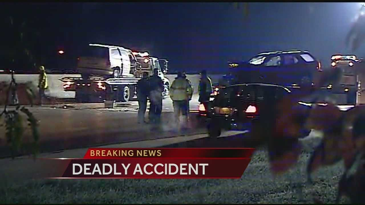 I-35, Santa Fe fatal crash