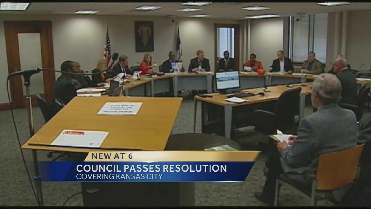 KC council passes resolution blasting neo-Nazi rally