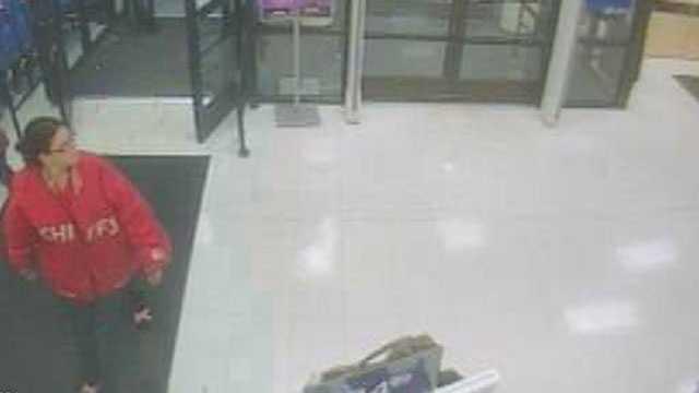 Merriam robbery surveillance image
