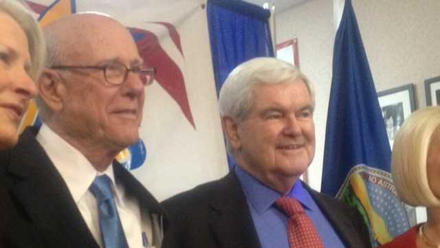 Newt Gingrich in Overland Park