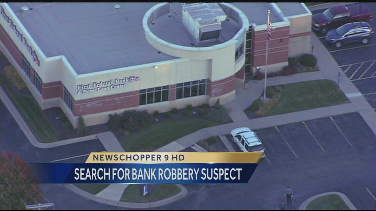 Image First Federal bank robbery