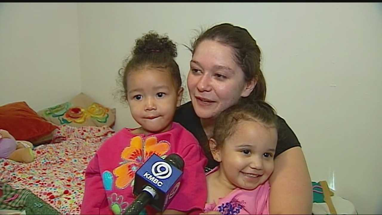 Two young girls who had been reported missing are back home with their mom after spending part of the day with their godmother.