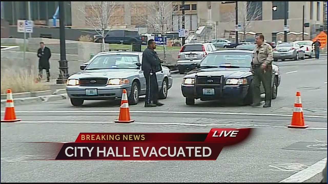KCMO City Hall Evacuated
