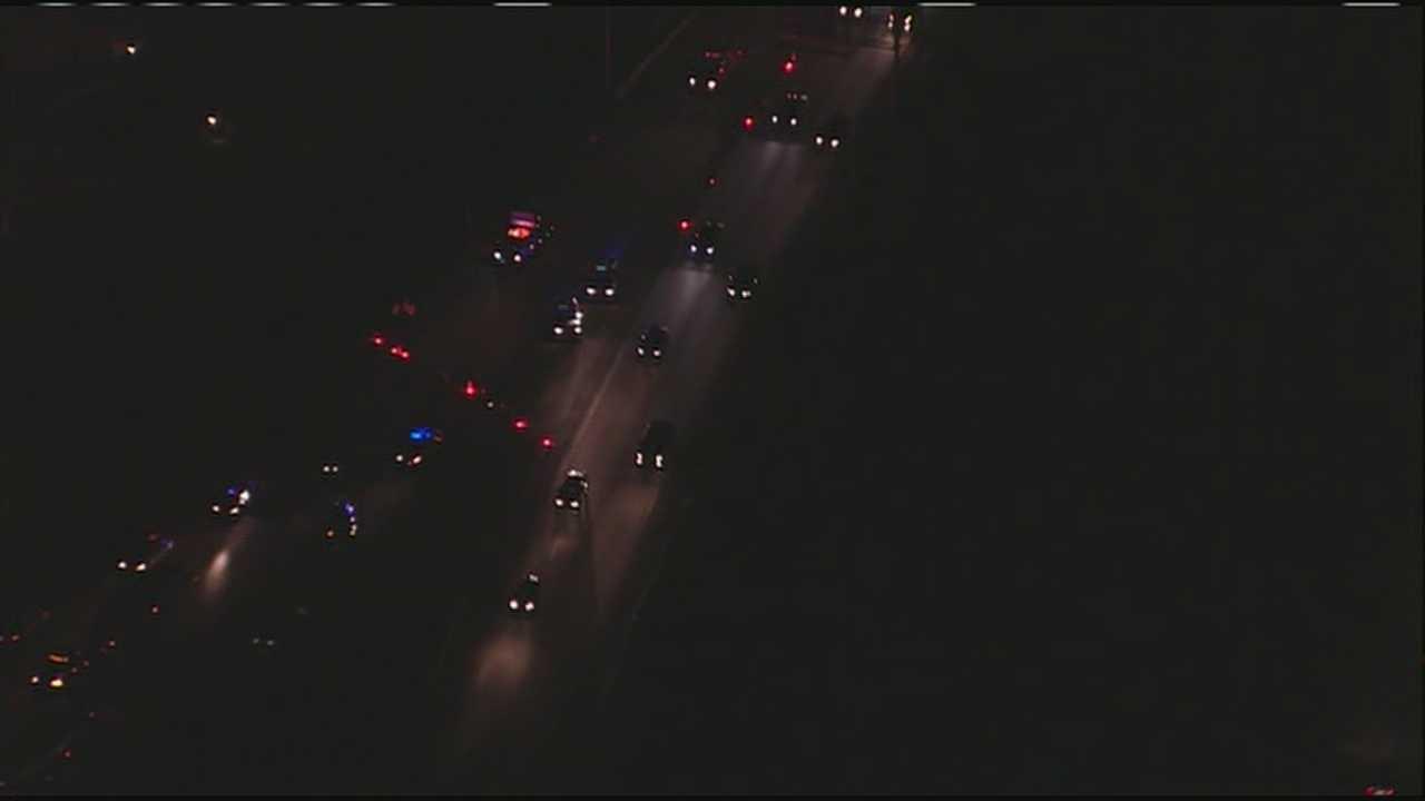 Image Pedestrian killed on I-29