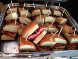 Sporting KC's famous Flamin' Hot Cheeto enrusted chicken sandwich is a fan favorite any season.