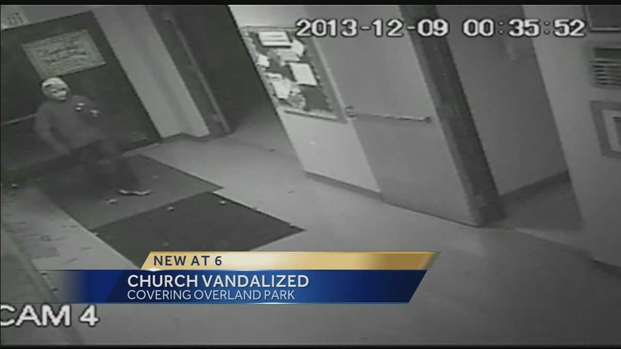 Image Church vandal