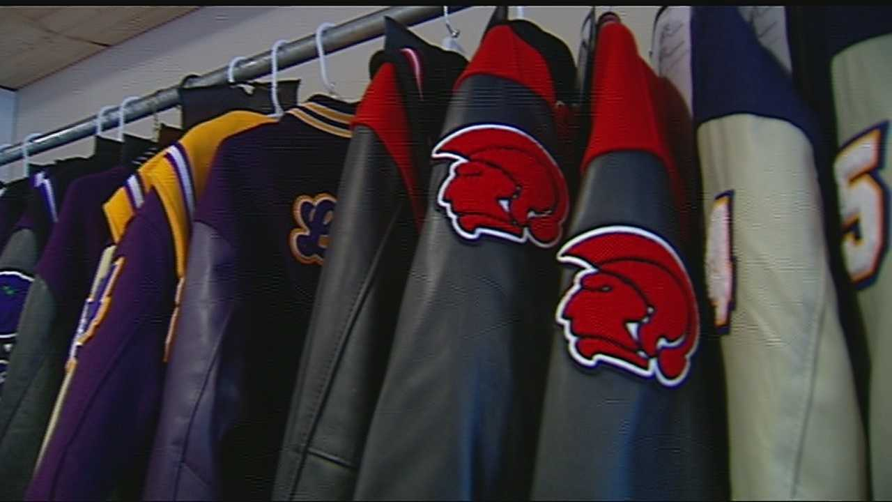 3 generation business makes jackets the old fashioned way for students img