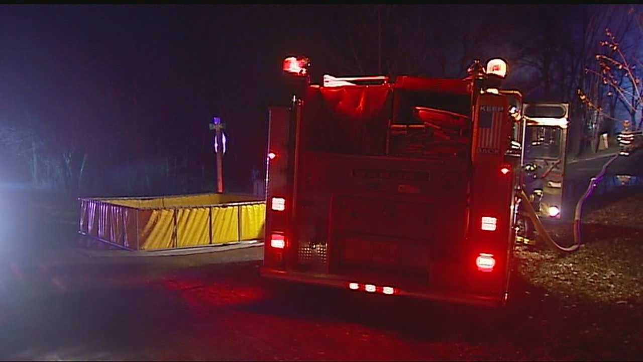 Image Platte County house fire