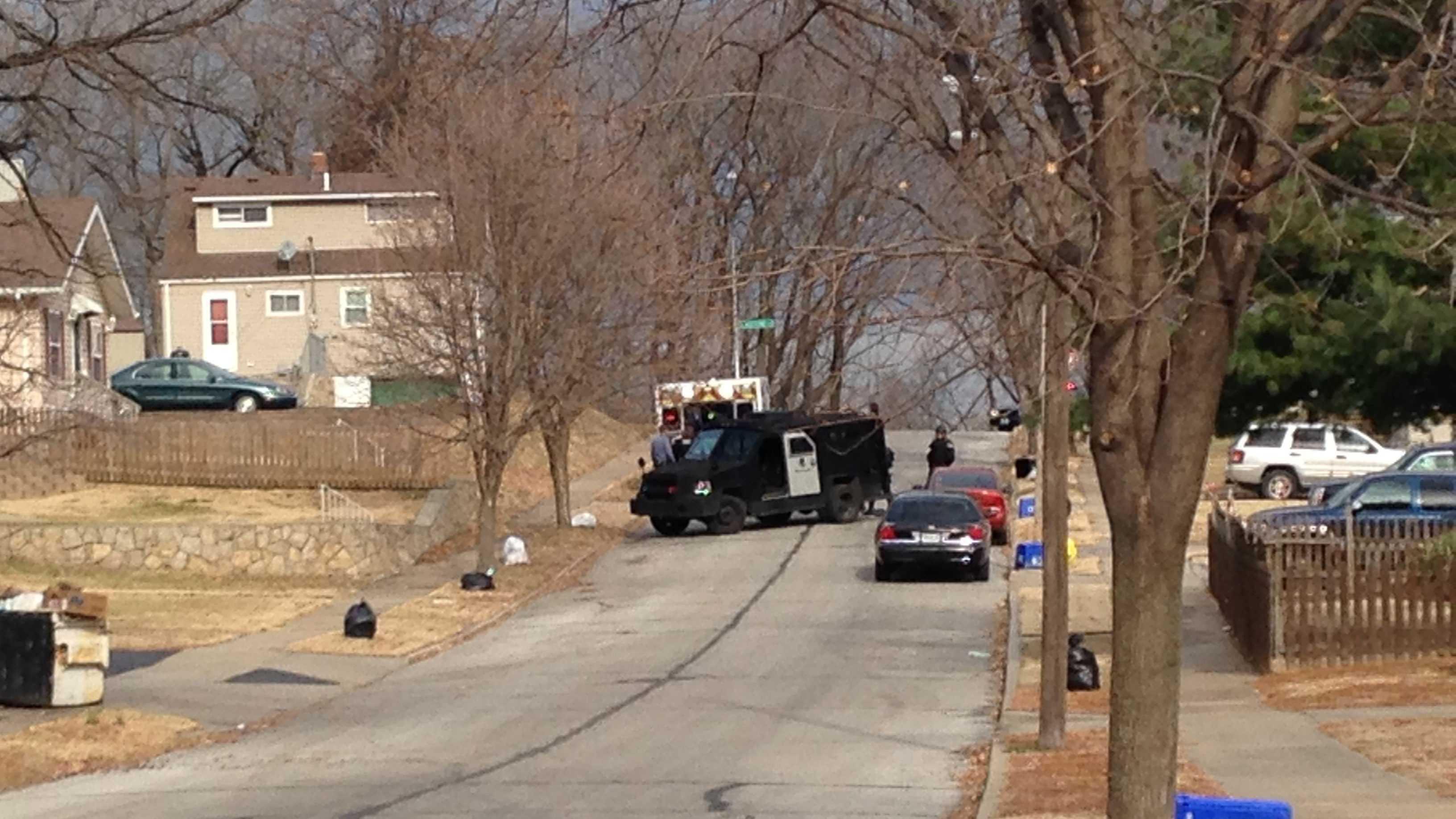 Police shooting northeast KC