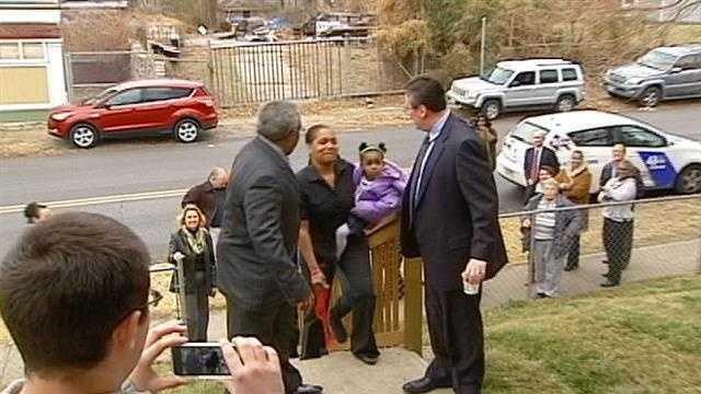 Latoya Caldwell gets new house