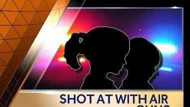 Kids shot at with airguns