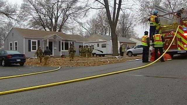Shawnee house fire, West 70th Street