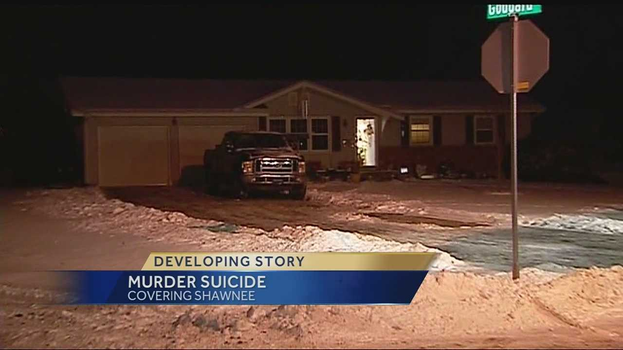 Police investigating possible murder-suicide in Shawnee