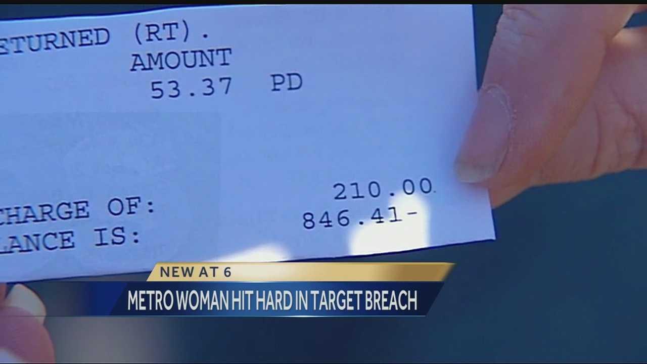 Metro woman hit in Target breach