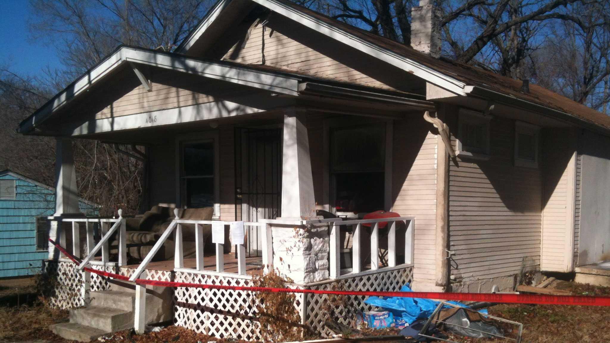 House fire, 4000 block of E. 69th Street